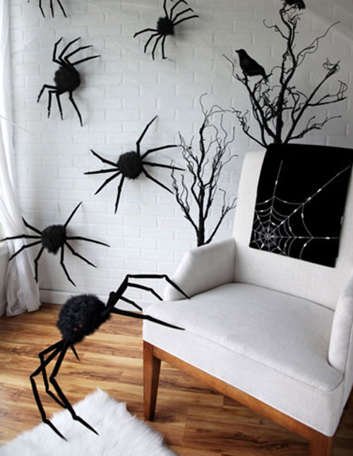 Spider Prop Scene