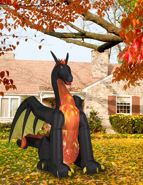 Inflatable Dragon Halloween