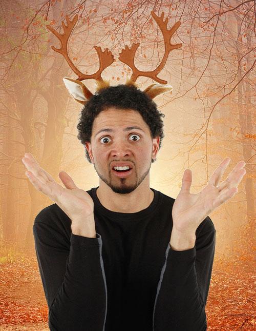 Deer Antlers Costume