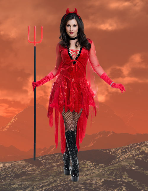 Sexy Devil Dress