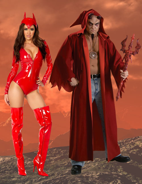 Devil and Sexy Demoness Costume