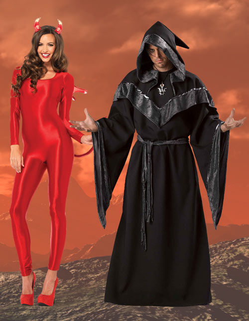 Devil and Evil Sorcerer Costumes