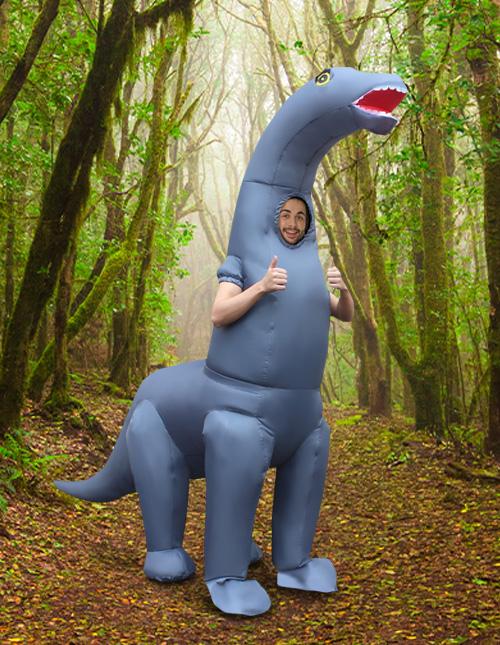 Inflatable Brontosaurus Costume