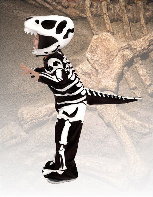 Child T-Rex Fossil Costume