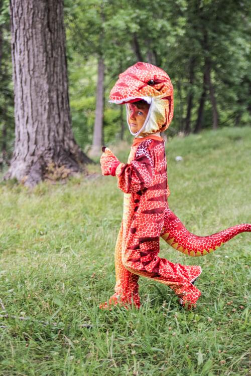 T-Rex Goes A-Huntin'