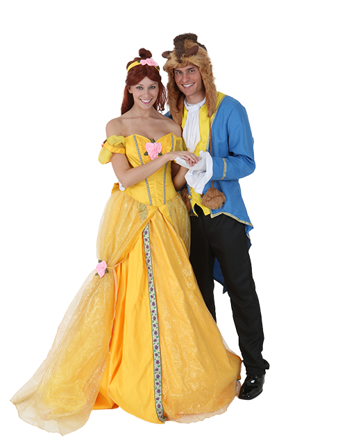 Belle and Beast Couples Costume