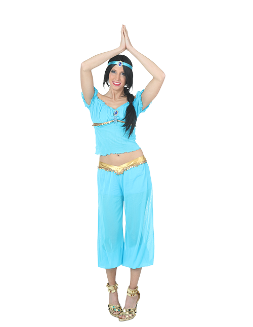 Jasmine Arabian Nights Pose