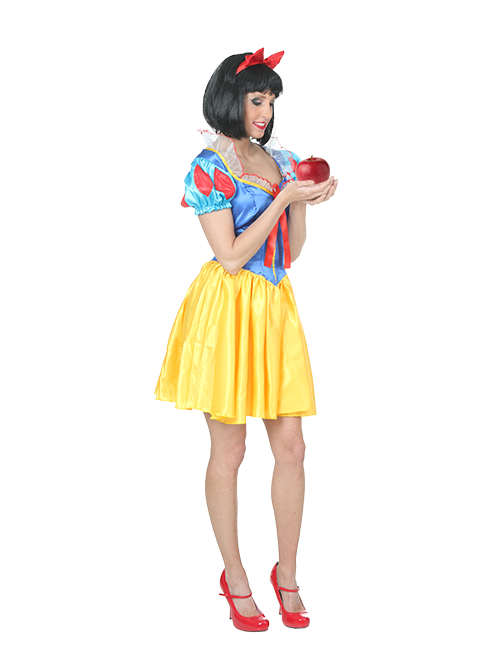 Snow White Take a Bite Pose