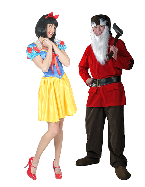 Snow White and Dwarf Couples Costumes