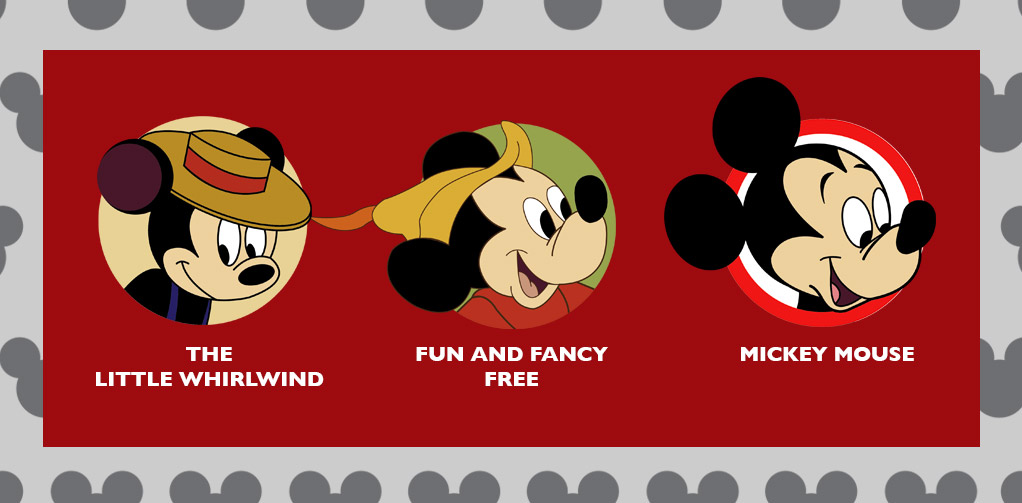 The Little Whirlwind, Fun and Fancy Free, and Mickey Mouse