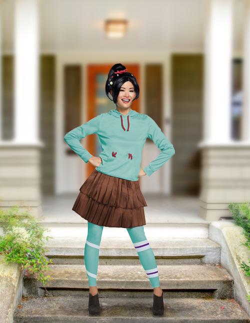 Vanellope Von Schweetz Costume