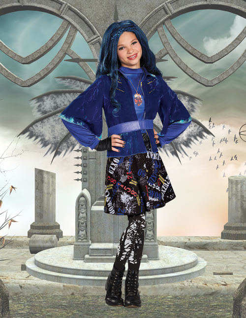 Girls Evie Costume