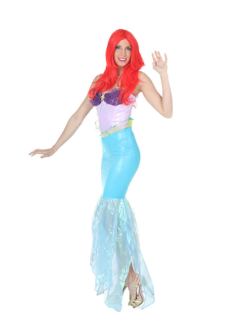 Disney costumes for adults kids halloweencostumes although king triton forbids contact with the land above the sea theres far too much to learn from the humans above so certainly theres no harm in solutioingenieria Images