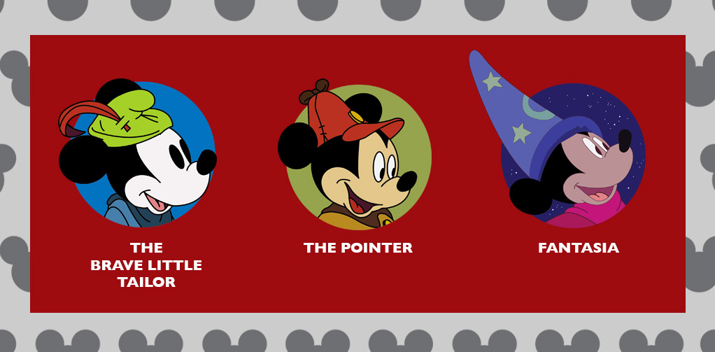 The Brave Little Tailor, The Pointer, and Fantasia