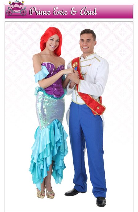 Ariel and Eric Couples Costume