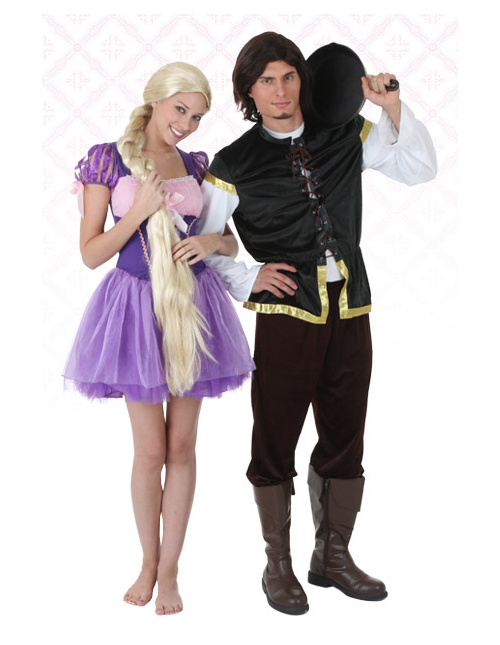 Flynn Rider and Rapunzel Costumes