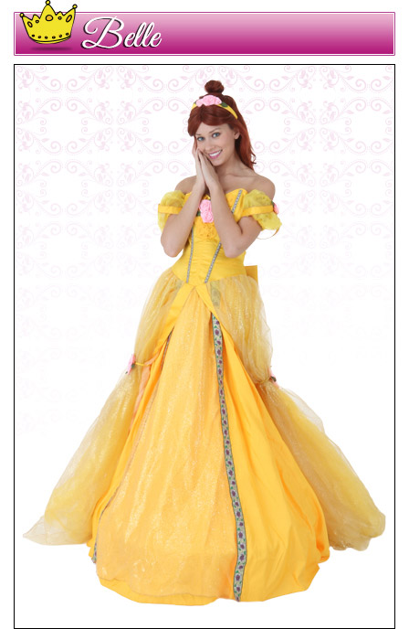 Womens Belle Costume
