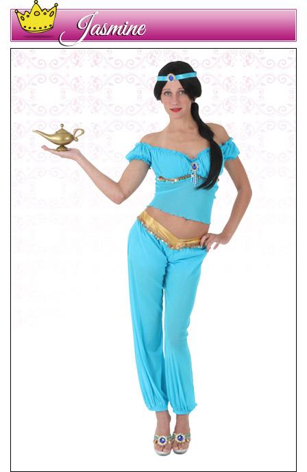 Womens Jasmine Costume