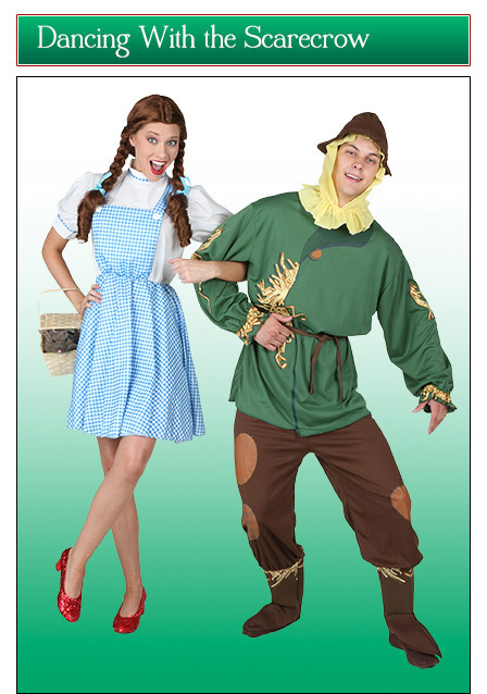 Dorothy and the Scarecrow Couples Costume Idea