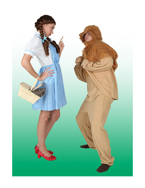 Dorothy and Cowardly Lion Costumes