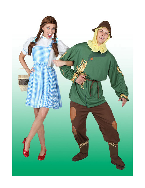 Dorothy and Scarecrow Costumes