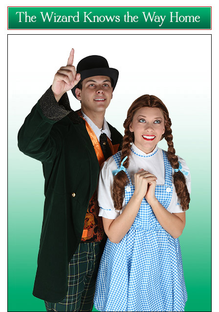 Dorothy and the Wizard Couples Costume Idea
