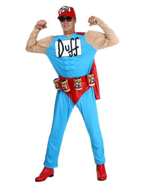 Cheap duffman fancy dress outfit