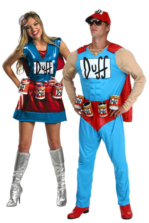Duffman and Duffwoman, Oh Yeah! Pose