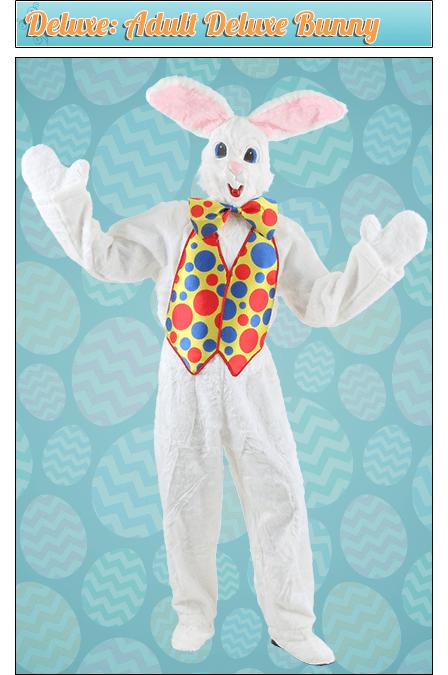 Deluxe: Adult Deluxe Bunny Costume
