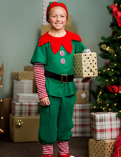 Boys' Elf Costume