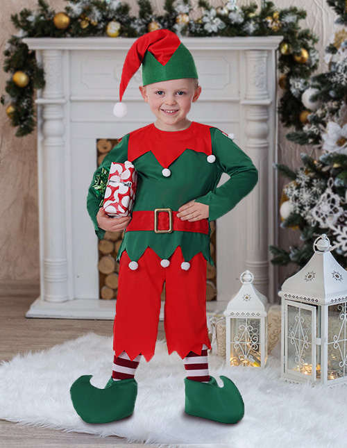 Toddler Santa Elf Costume