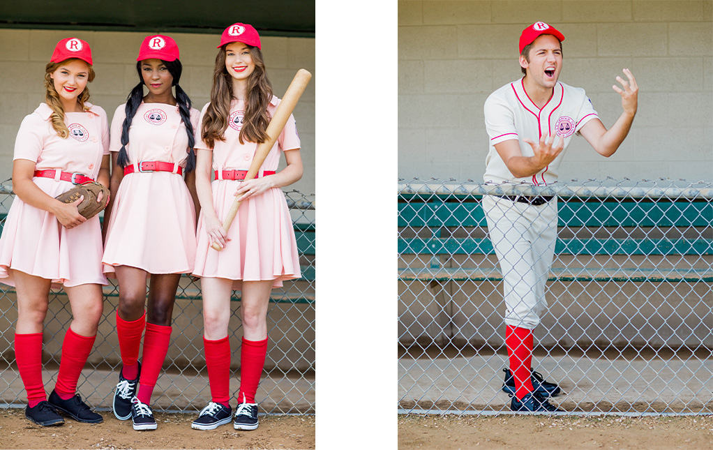 Exclusive A League of Their Own Costumes