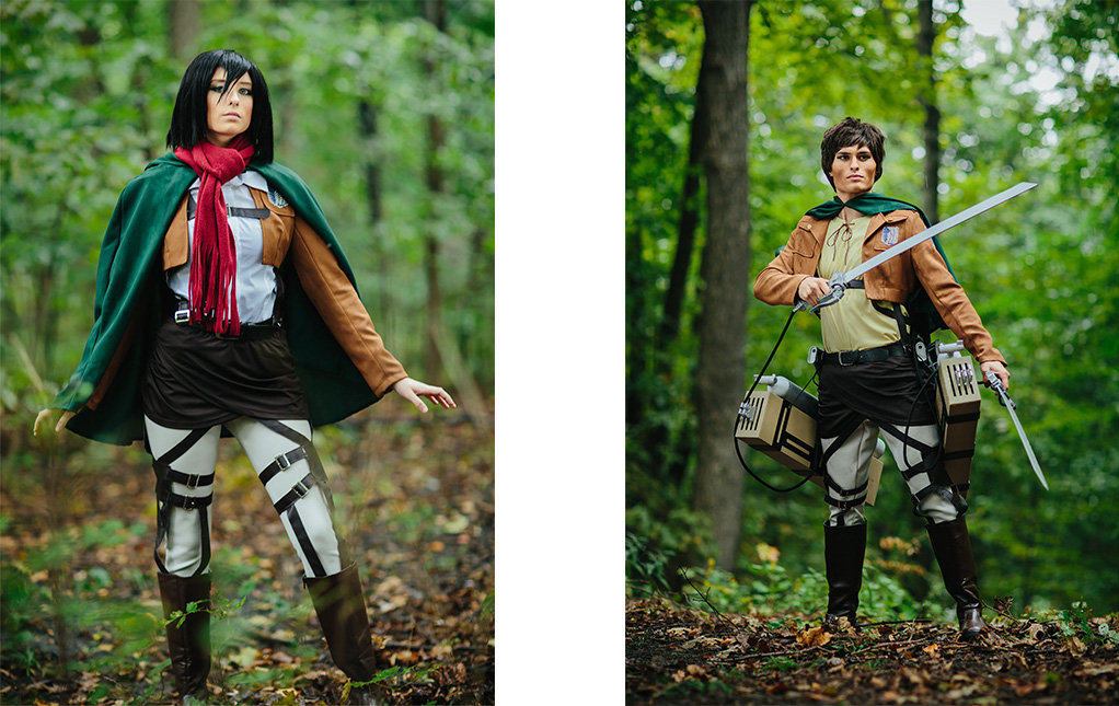 Exclusive Attack on Titan Costumes