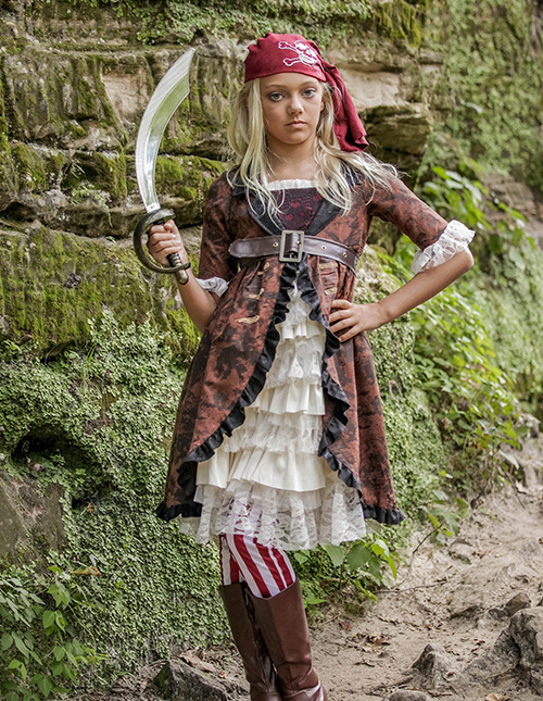 Exclusive Girls' Pirate Costume