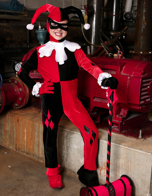 Exclusive Harley Quinn Toddler Costume