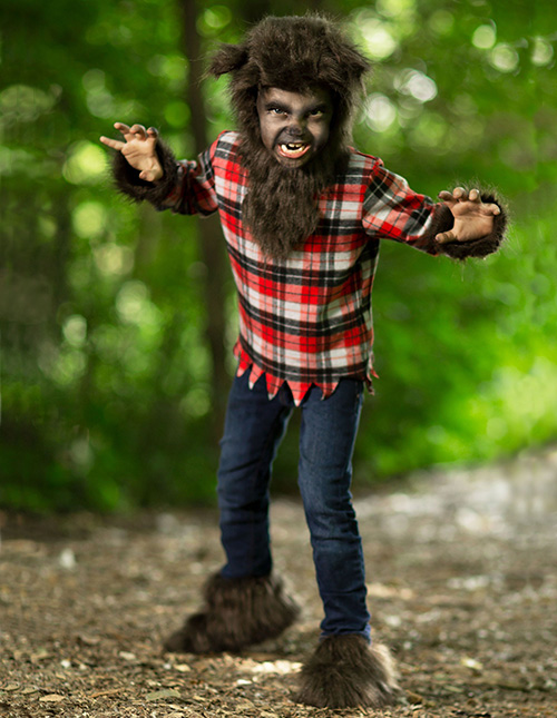 Exclusive Kids Werewolf Costume