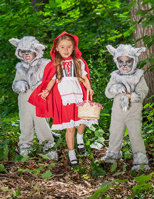 Exclusive Little Red Riding Hood Costumes