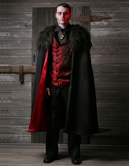 Exclusive Men's Vampire Costume