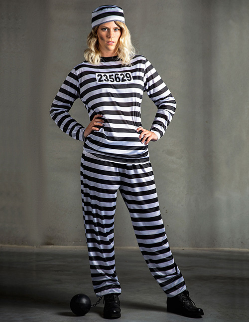 Exclusive Prisoner Costume Womens