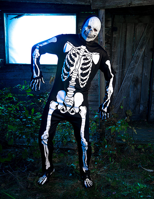 Exclusive Skeleton Costume