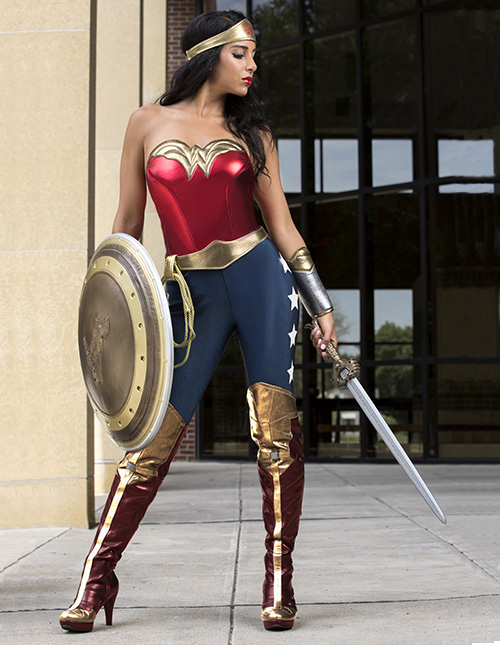 Exclusive Wonder Woman Costume