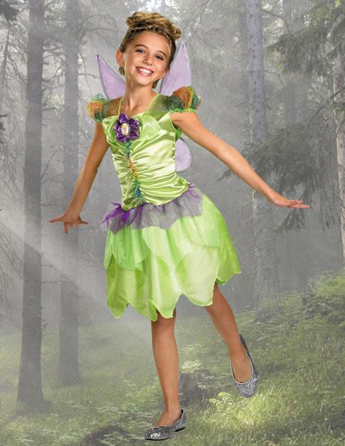 Girl's Tinker Bell Costume