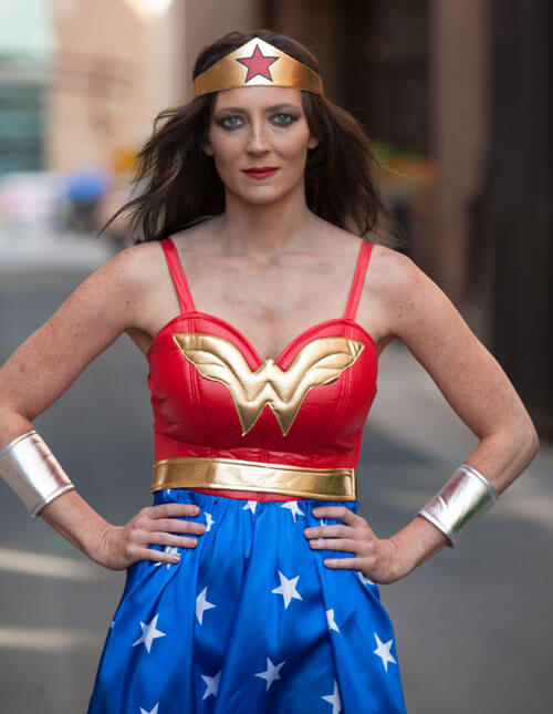 Love Your Look as Wonder Woman