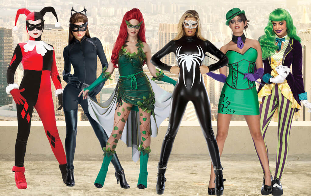 Superhero Costumes for Women - Female Superhero Costumes