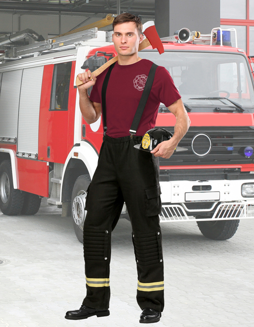 Fire Captain Costume