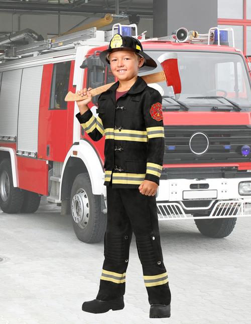 Kids' Fireman Costume