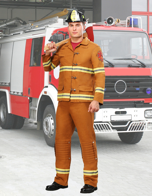 Men's Firefighter Costume