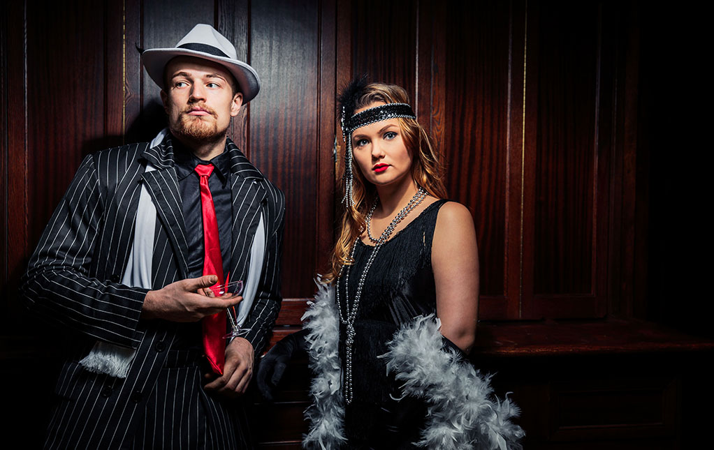 Gangster and Flapper Costumes