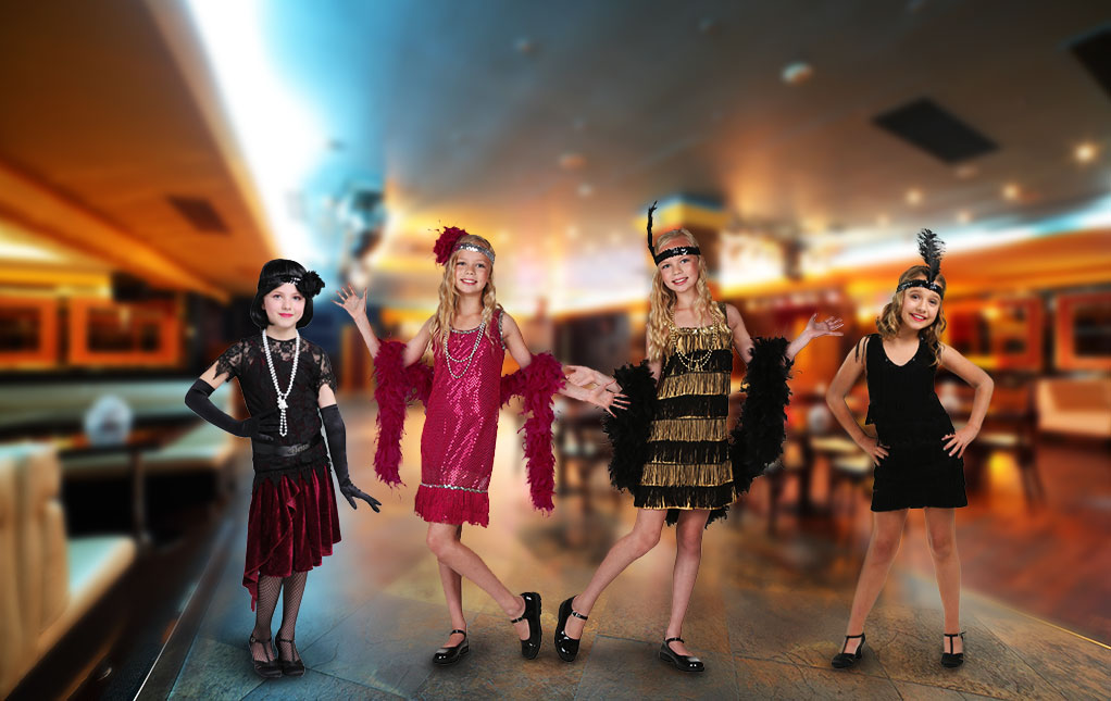 Girls' Flapper Costumes