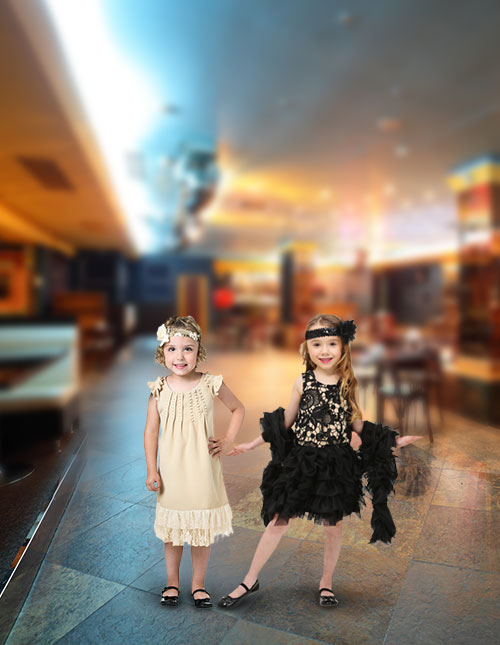 Toddler Flapper Costume